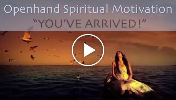 Spiritual Motivation - You've Arrived!  Arrived%20640%20Play%20-%201