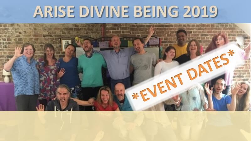 Arise Divine Being Home Banner