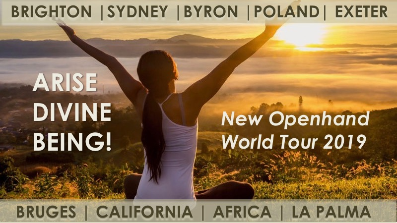 Arise Divine Being Openhand World Tour