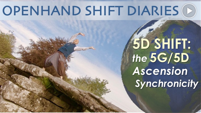 5G/5D Ascension Synchronicity with Openhand