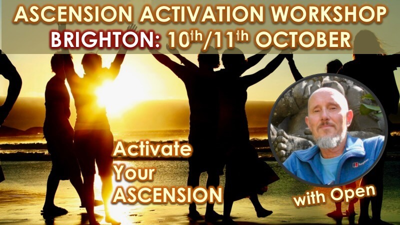 Ascension Activation Brighton September 2020