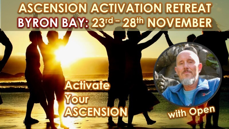 Ascension Activation Byron Bay November 2020 with Openhand