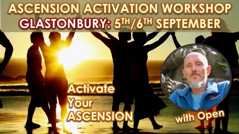 Ascension Activation Glastonbury 2020 with Openhand