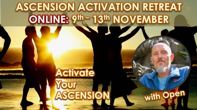 Ascension Activation Online November 2020 with Openhand