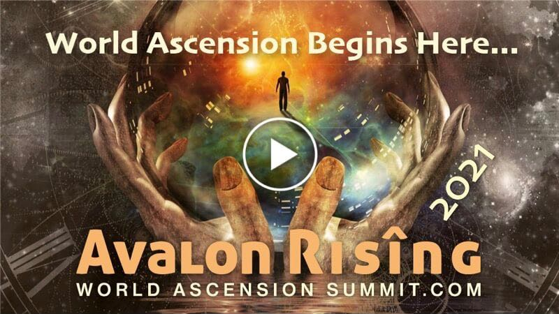 Avalon Rising 2021 - Video Play Button