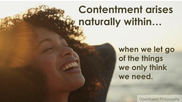 Contentment and Fulfillment