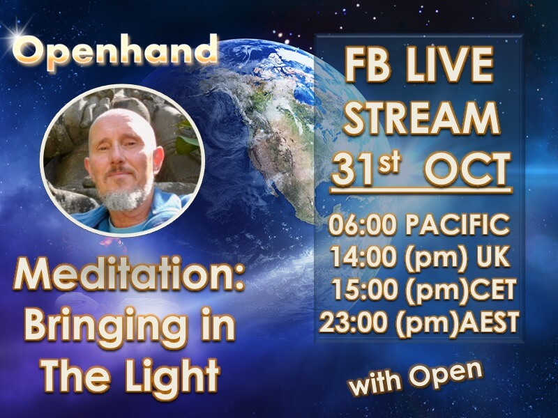 Bringing in The Light Meditation with Openhand