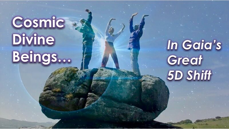 Rise Divine Human - Cosmic Beings - with Openhand