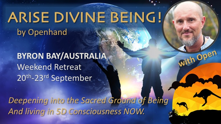 Openhand Divine Being Byron Retreat