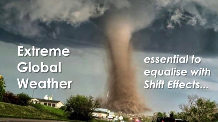 Normalising with Extreme Global Weather in The Shift