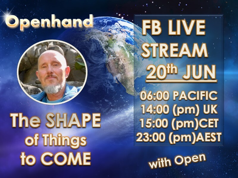 Openhand FB LiveStream - The Shape of Things to Come