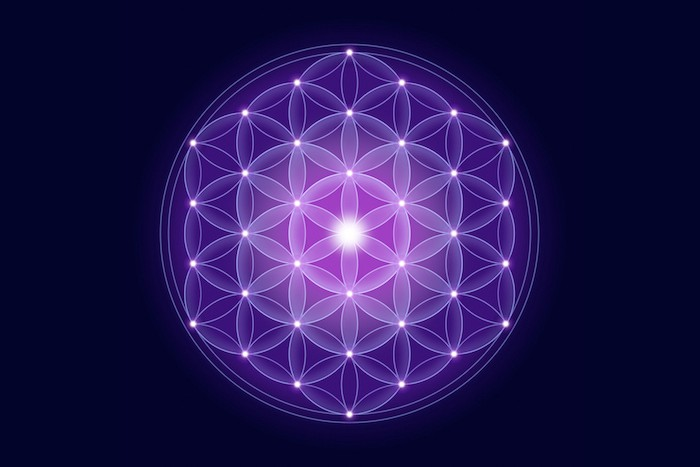 Flower of Life with Openhand