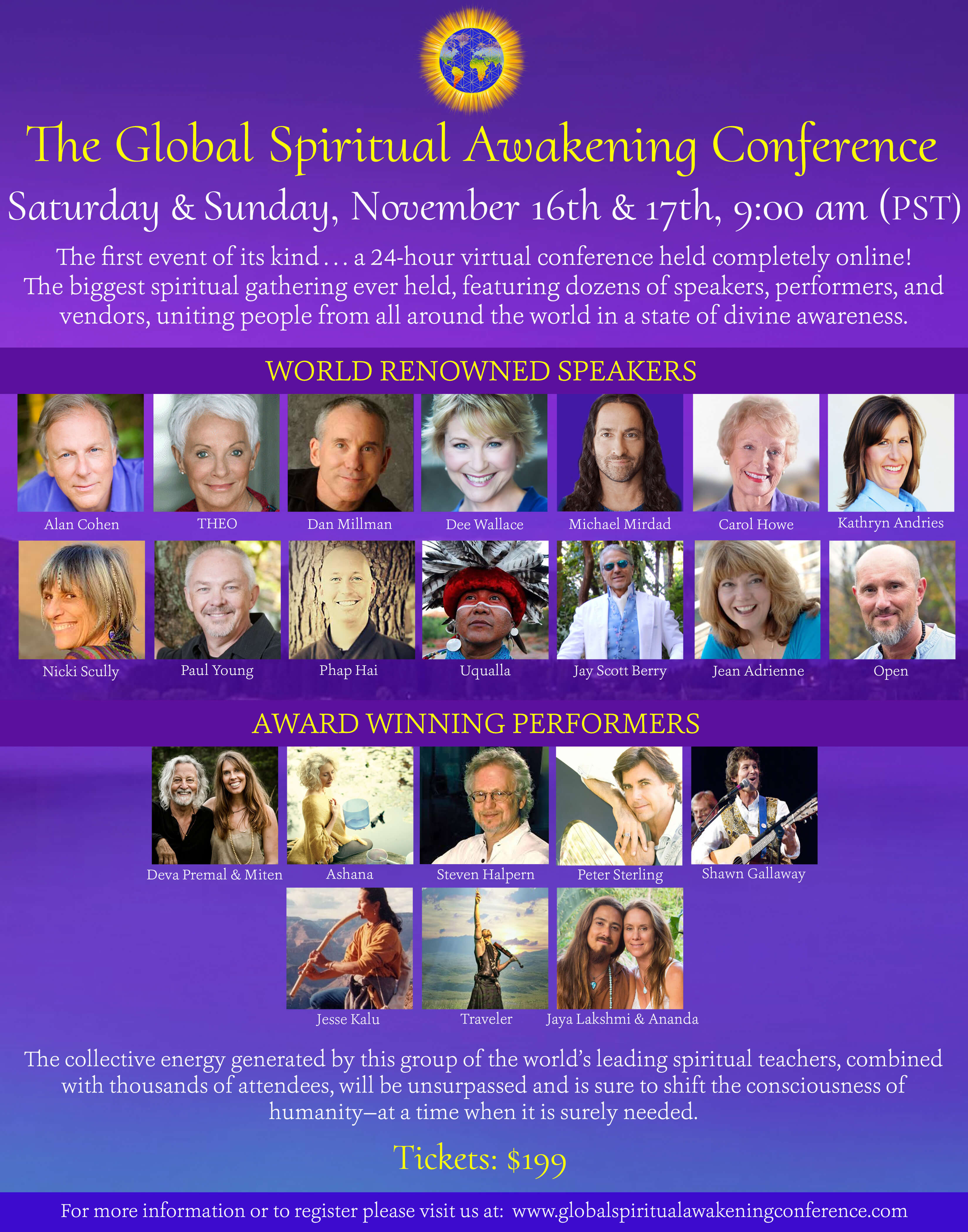 Openhand at the Global Spiritual Awakening Conference