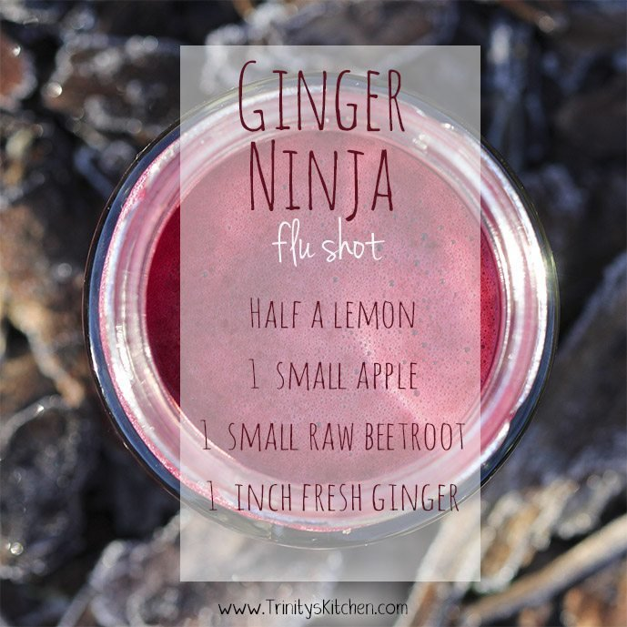 Openhand ginger Ninja flu shot