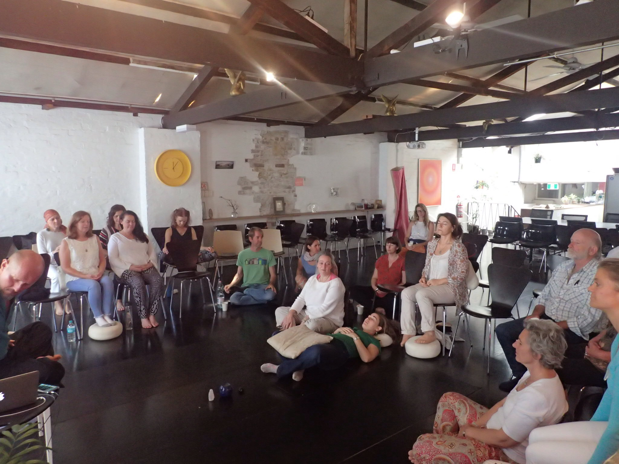 Openhand 11:11 group meditation