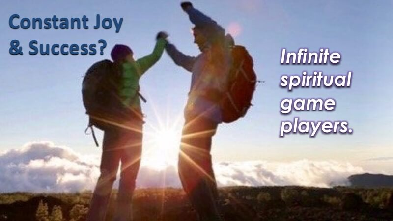 Infinite Spiritual Game Players with Openhand