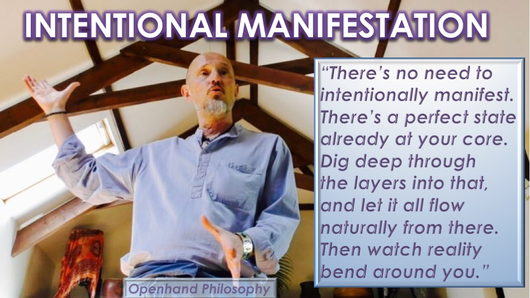 Intentional Manifestation by Openhand