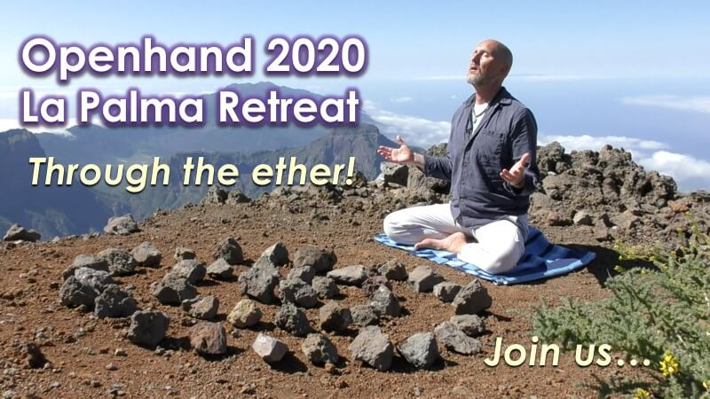 Join the Openhand New Year Retreat Through the Ether