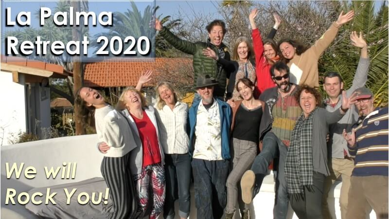 La Palma Retreat 2020 with Openhand - We will Rock You!