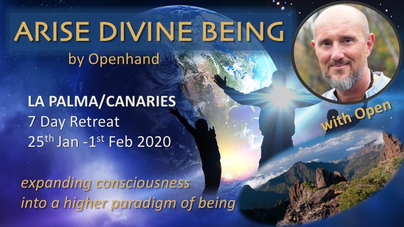 Arise Divine Being Canary Islands with Openhand