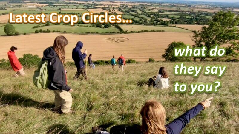 Understanding  the Latest Crop Circles with Openhand