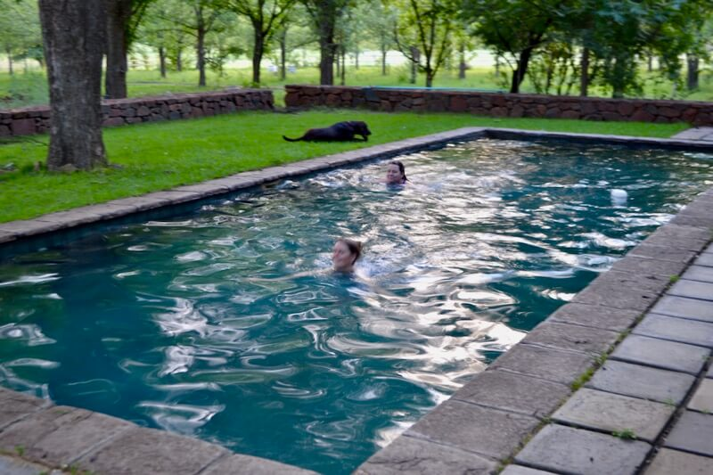 Openhand Africa retreat - cool pool