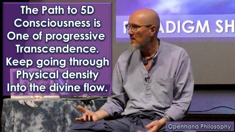 The Way to 5D Consciousness is through Progressive Transcendence
