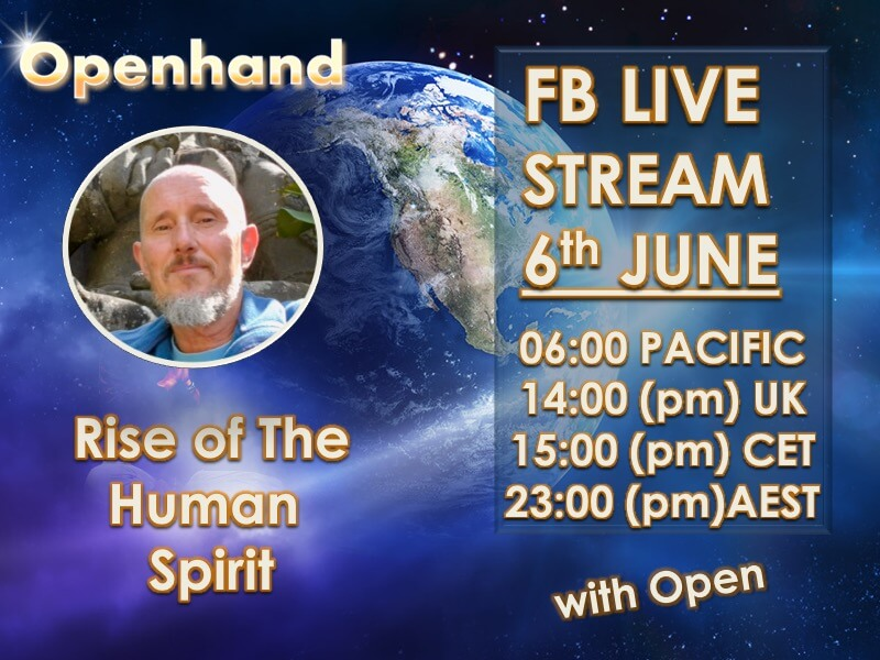 Rise of the Human Spirit - LiveStream with Openhand