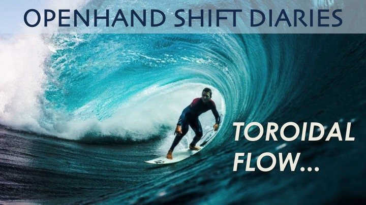 Riding the Toroidal Flow