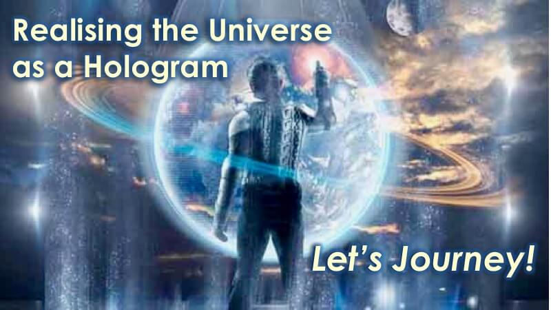 The Universe as a Hologram with Openhand