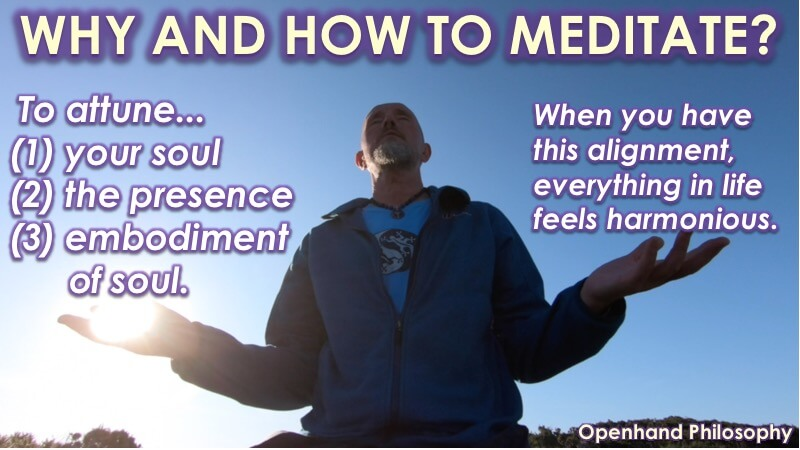 Why and How to Meditate? with Openhand