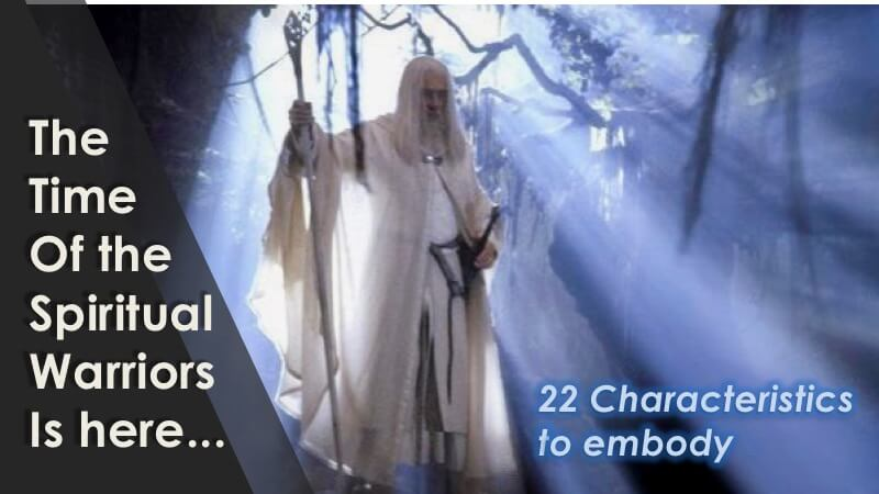 The Spiritual Warrior - 22 Charateristics with Openhand